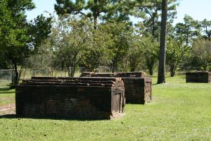 "The historic cemetery is virtually all that remains of the famed ""Lost City"" of St. Joseph, Florida. The two men killed nearby by the pirates may have been buried here."